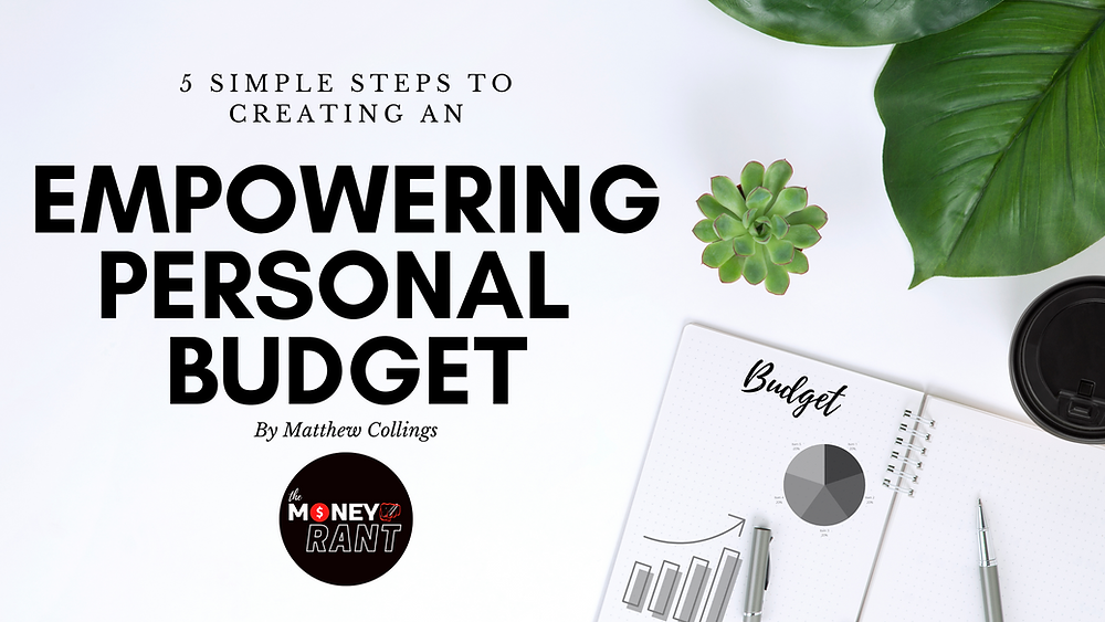 Creating a simple budget