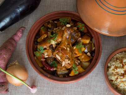 Chicken and Root Vegetable Tajine