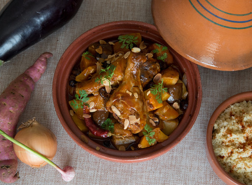 Chicken and Root Vegetable Tajine