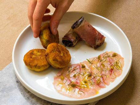 Italian Antipasti - Polpette Di Zucchine