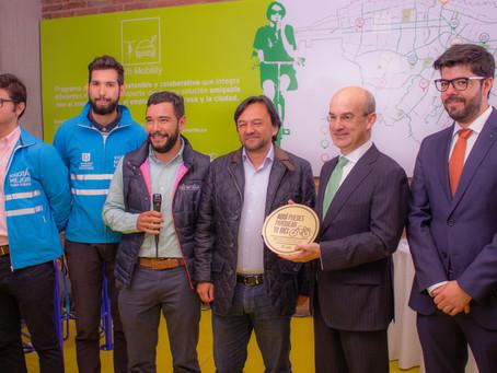 Citi Colombia recibe certificado 'Sello de Calidad Oro' por cicloparqueadero