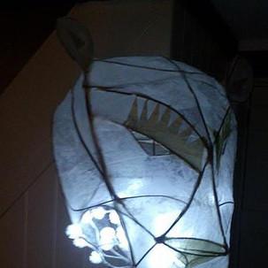 Lantern making large sculpture workshops