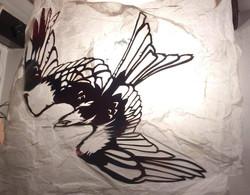 Red Kite Stencil