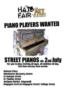 Hat Fair Street Pianos