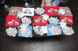 T-shirts designed by young people