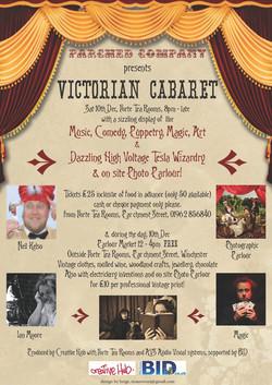 Victorian Cabaret poster