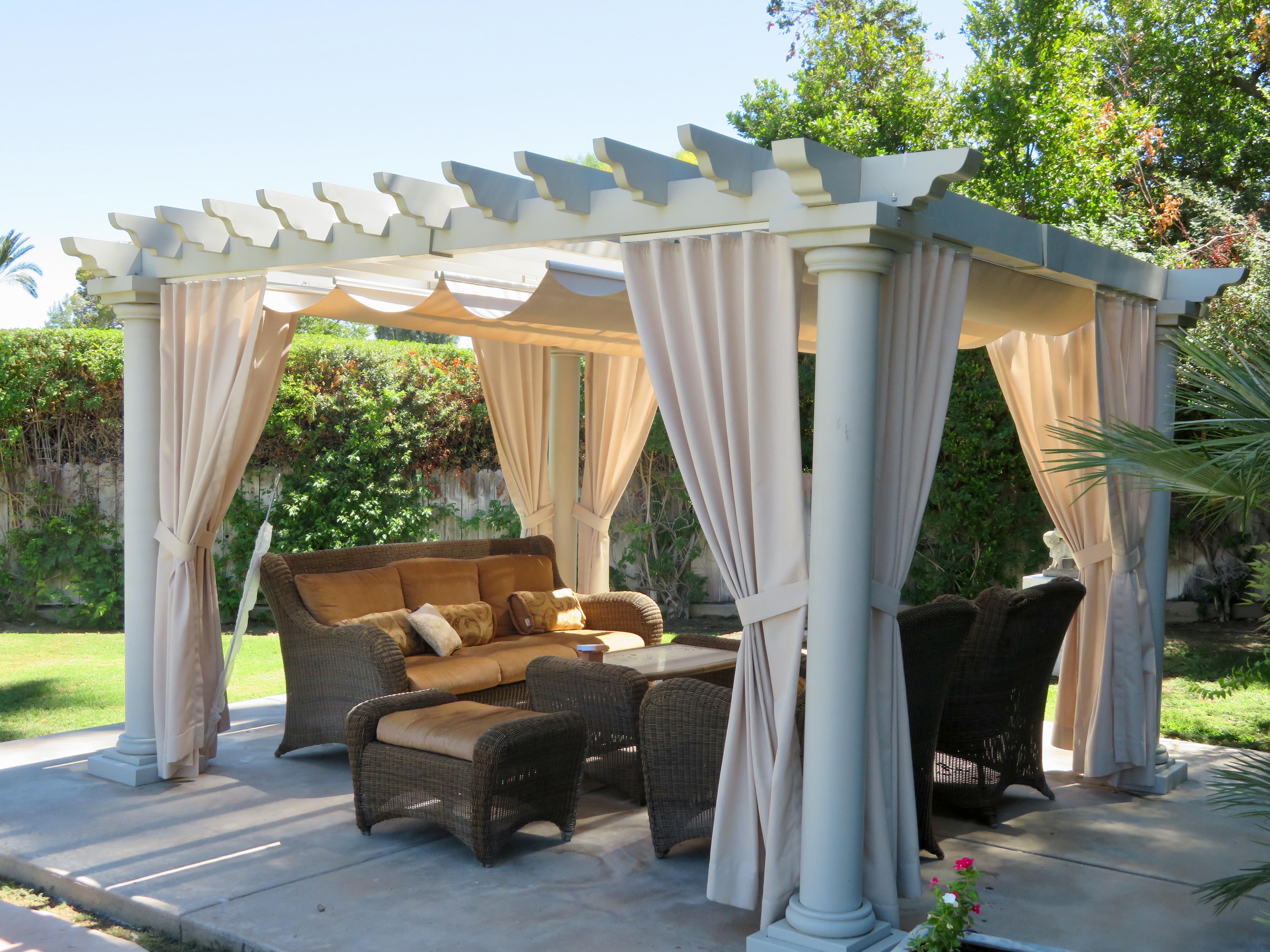 Stylish Pergola Canopy