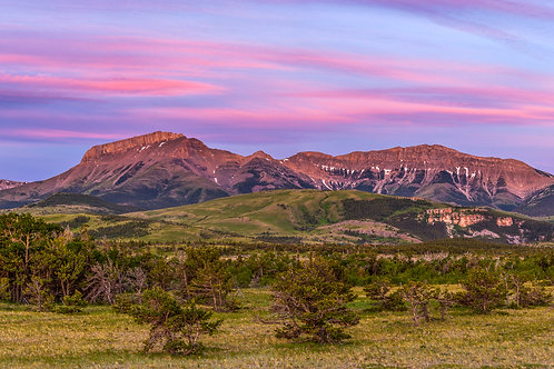 Ear Mountain, Rocky Mountain Front near Choteau, Montana