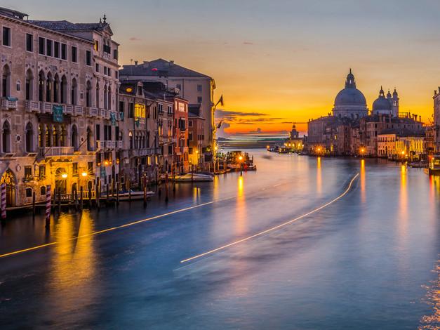 Grand Canal, Early Morning, Venice, Italy