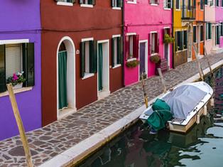 Burano Colors, Venice, Italy