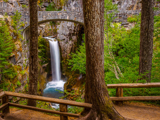Lower Christine Falls, Mount Rainier National Park, Washington