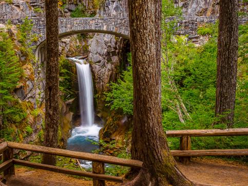 Lower Christine Falls, Mount Rainier National Park, Washington