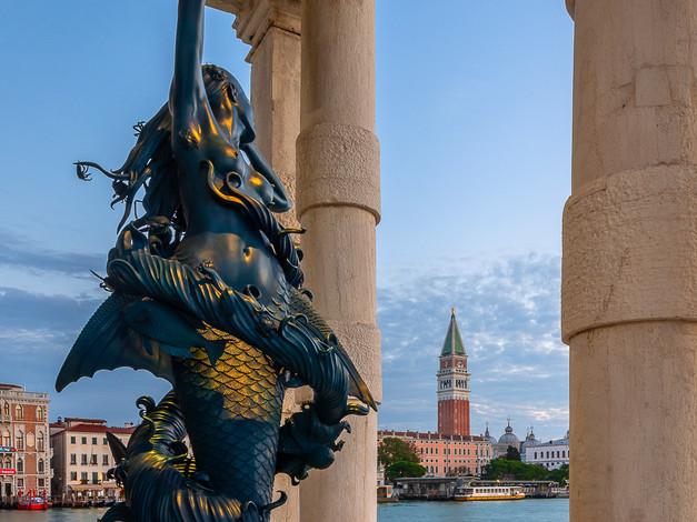 """""""Mermaid"""" by Damien Hirst, Punta della Dogana, Venice, Italy"""