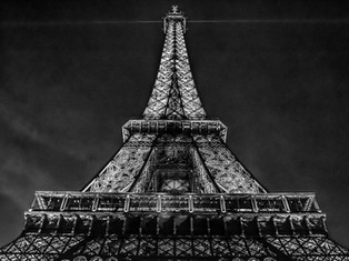 Eiffel Tower at Night (Horizontal), Paris, France