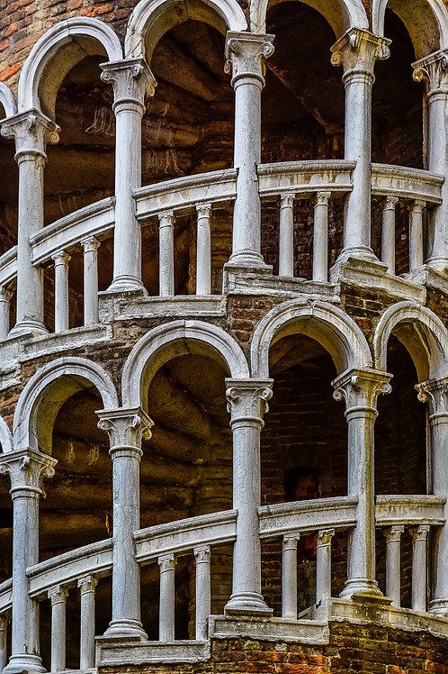 Scala Contarini del Bovolo, Venice, Italy