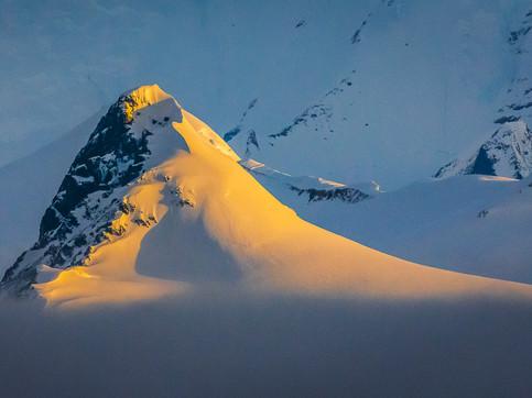 Sunlit Ridge, Danco Coast, Antarctica