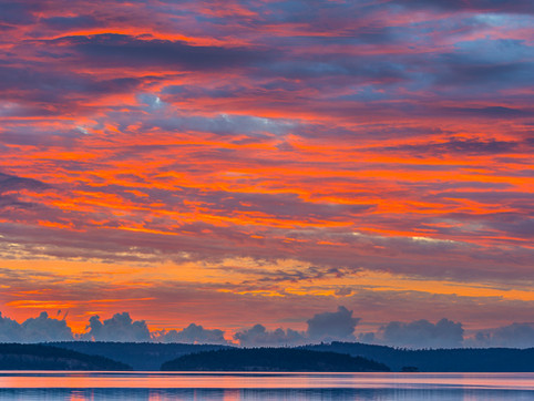 Sunrise Over Mermaid Cove, Vancouver Island, British Columbia