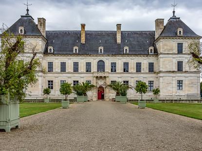 North Facade, Chateau d'Ancy-le-Franc, Burgundy, France
