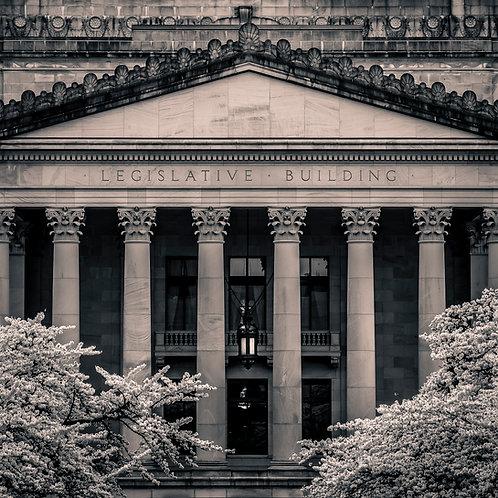 South Portico, Legislative Building, Olympia, Washington
