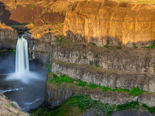 Palouse Falls and Basalt Cliffs, Franklin County, Washington