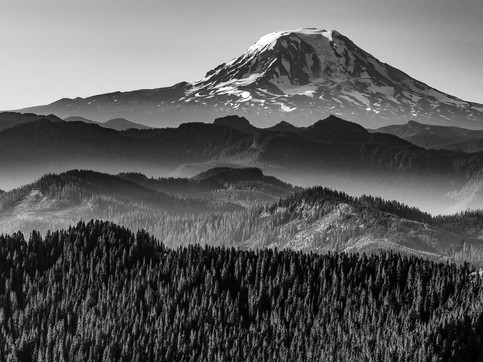 Mount Adams from High Rock, Gifford Pinchot National Forest, Washington