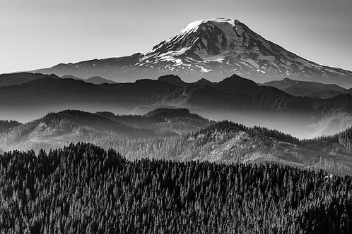 Mount Adams from High Rock, Gifford Pinchot National Forest, Washington