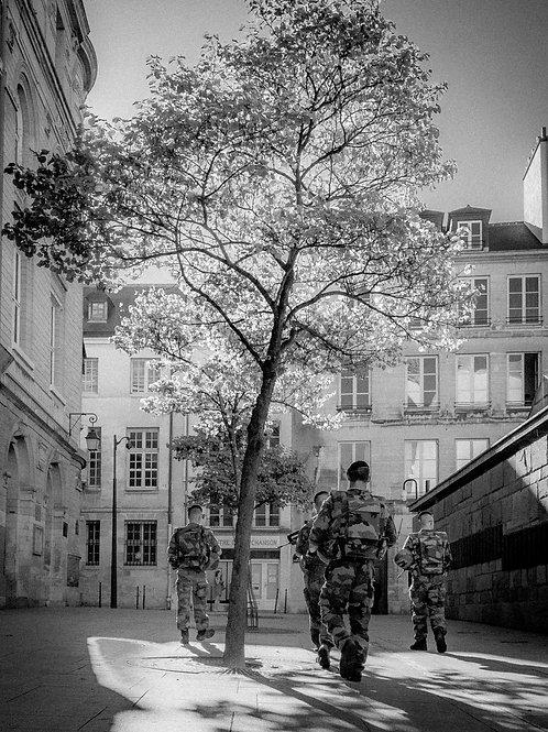 Armed Patrol, Paris, France