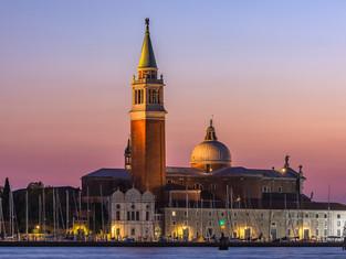 San Giorgio Maggiore from the Reva degli Shiavoni, Venice, Italy