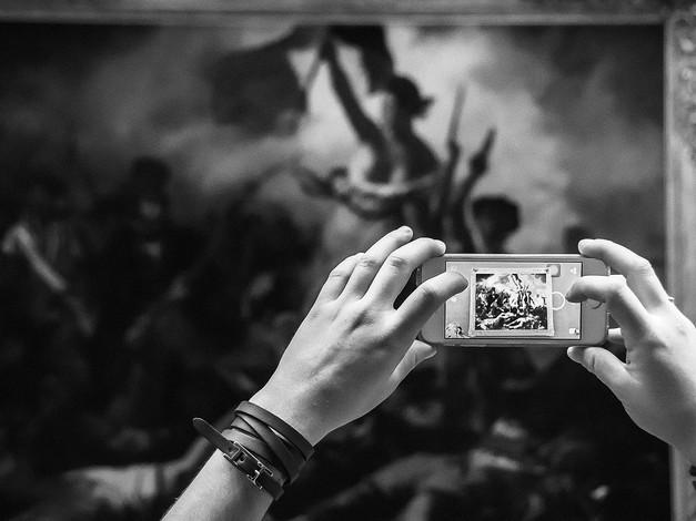 """Liberty Leading the People"" by Delacroix, Musee Du Louvre, Paris, France"
