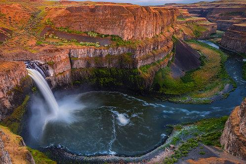 Palouse Falls at Twilight, Franklin County, Washington