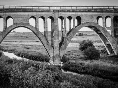 Milwaukee Road Rail Bridge, Rosalia, Washington