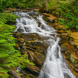 Madcap Falls, Mount Rainier National Par