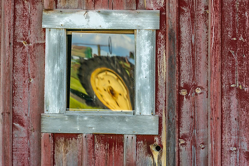 Tractor Reflection, Palouse, Washington