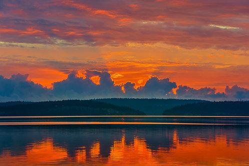 Radiant Sunrise, Vancouver Island, British Columbia