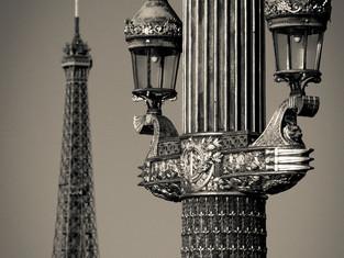 Lamppost, Place de la Concorde, Paris, France