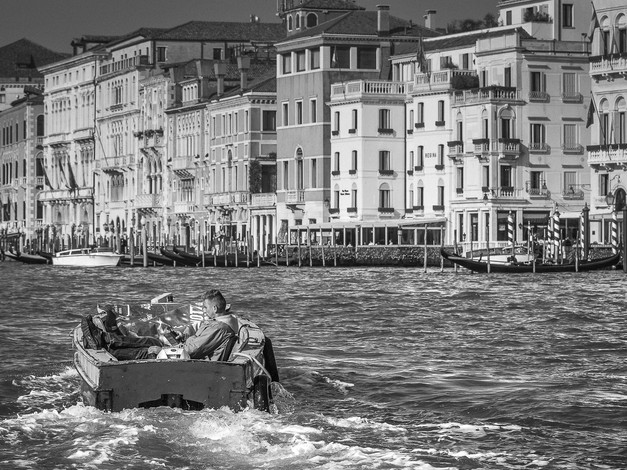Morning Commute, Venice, Italy