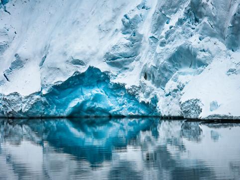 Blue Grotto, Paradise Bay, Antarctica