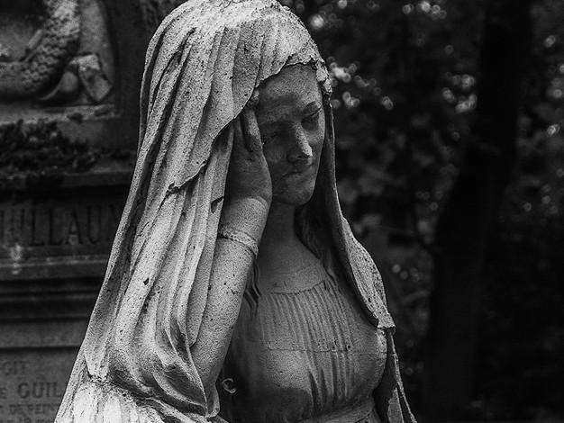 Memorial, Pere La Chaise Cemetery, Paris, France