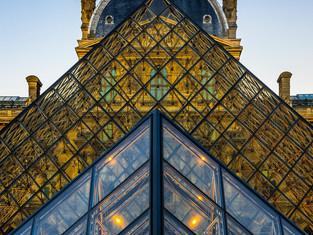 Pyramides du Louvre, Paris, France