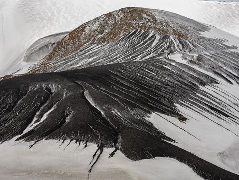 Cinder Cone, Deception Island, Antarctica