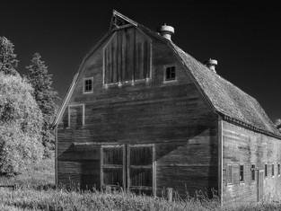 Barn on Hwy 27 at Kelley Road, Palouse, Washington