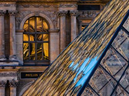 Properties of Glass, Musee du Louvre, Paris, France