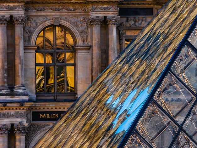 Properties of Glass, Musee du Louvre, Paris, France