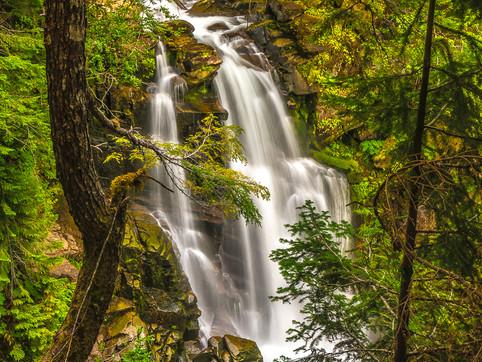 Carter Falls, Mount Rainier National Park, Washington