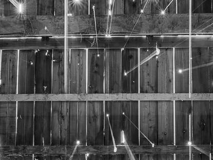 Light Beams 1, Orkney Farm, Denman Island, BC