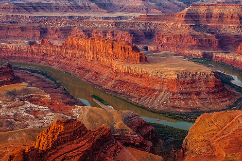 Green River from Dead Horse Point State Park, Utah