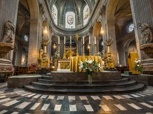 Altar, Church of Saint-Sulpice, Paris, France