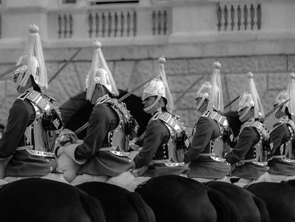 Life Guards at Horse Guards Parade, London, United Kingdom