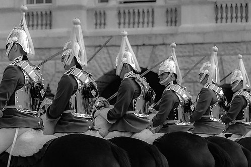 Life Guards at Horse Guards Parade, London, United Kingdom