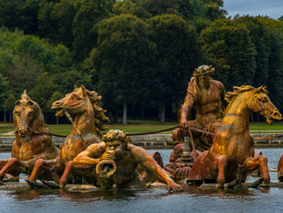 Apollo Fountain, Palace of Versailles, France